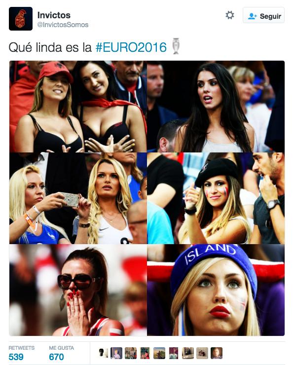 8. Tuit más popular en México sobre la Eurocopa