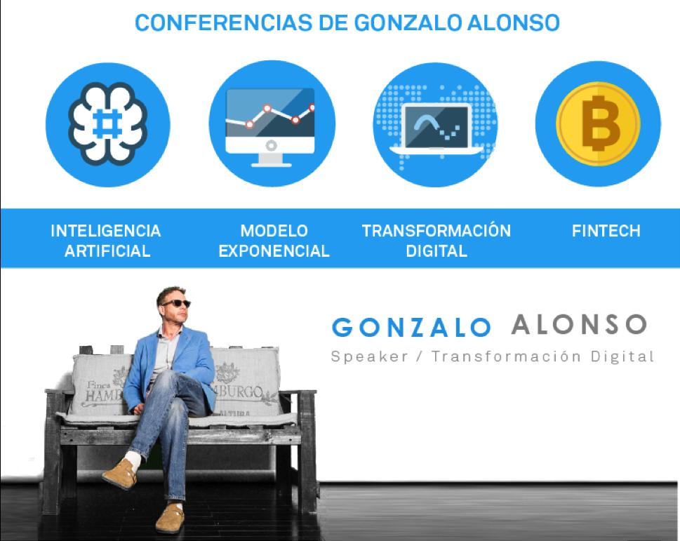 Contrata una conferencia de Gonzalo Alonso